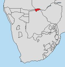 Location of Lozi (RSA-SWM)