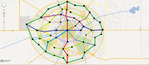 Grand Flatts City Subway Network