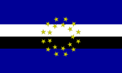 Flag of the europa confederacy by zifker-d4cxz5v