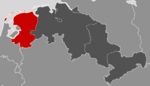 Location of Dutch Lower Saxony