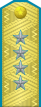 Islandese Lieutenant General (Air Force) (Paradise Island's World)