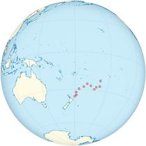 MI Location on Globe