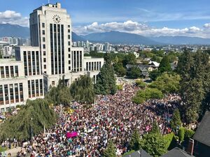 Vancouver-protest