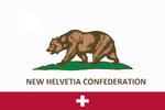 New Helvetia Confederation flag