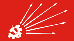Flag of the Turkish Republican Workers' Party