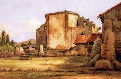 Mission San Juan Capistrano abandoned