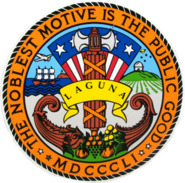 Seal of Laguna
