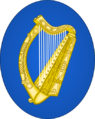 Arms of Ireland (Oval variant).png
