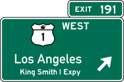 Smith I Expressway Exit Sign