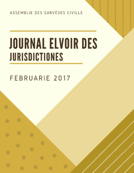 Journal des Jurisdictiones, Feb