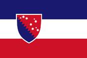 Kladdonín flag NR