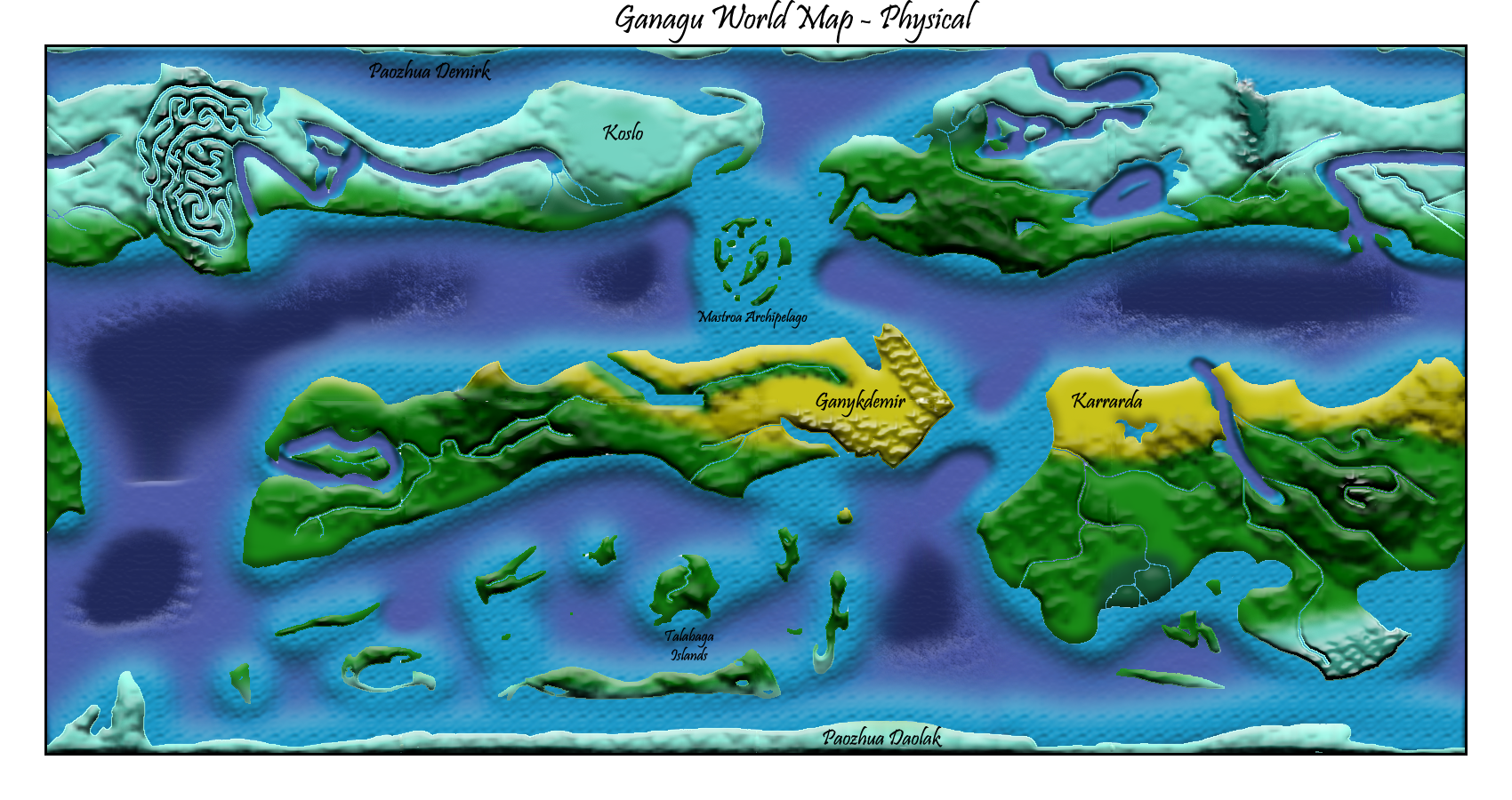 Image Ganagu World Map Final Physical Labeledpng Constructed - World map labeled