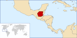 Location of San Lorezno