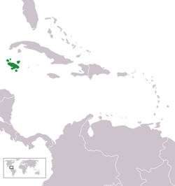 Location of the Spanish Islands