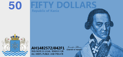 50 Kanian dollars