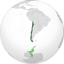 Chile orthographic