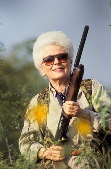 Dorothy Ann Richards hunting