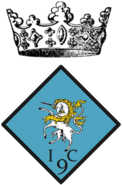 9th Infantry Cie insignia