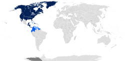Map of the Conference of American States