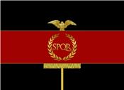 Roman flag NR