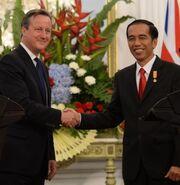 David Cameron Nyan Phyu