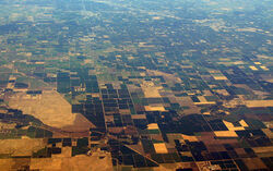 Central Valley from space