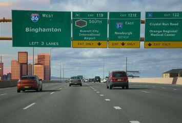 I-86 Westbound