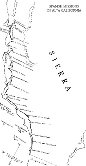 Map of Sierra (missions)