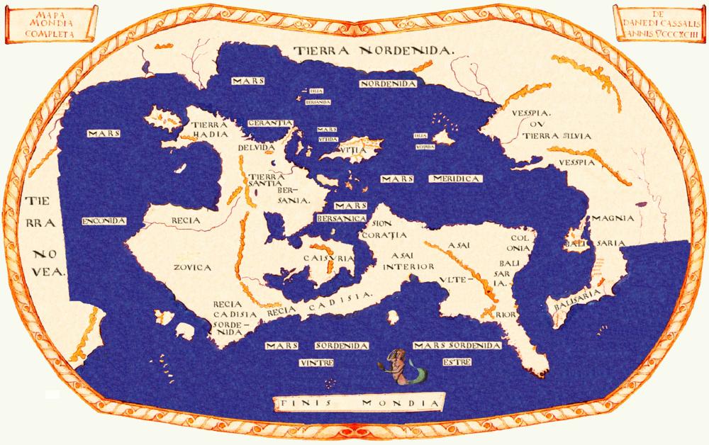 Mapa Mondia