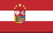 Intermarium flag