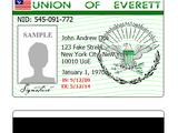 National Identification Card (EV)