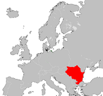 East Bulgaria location