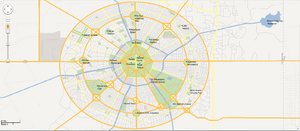 Grand Flatts City Sight-Seeing Map