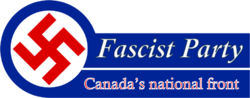 Logo of the Canadian Fascist Party (SWM)