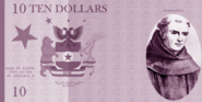 Sierran ten dollar front