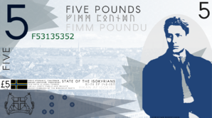 Isokyrian five pound note 2018