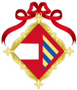 Royal Arms of La Plata (1879 to 1914)