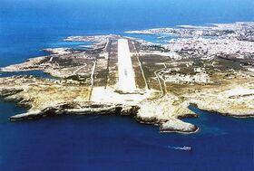 Lampedusa runway
