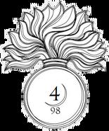 4th Artillery Cie insignia
