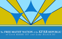 Kfar Nation Flag