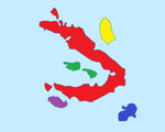 Kihāmát (Islands, coloured)