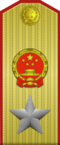 Marshal of the PRC rank insignia (vertical)