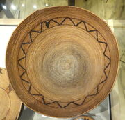 Cahuilla basket bowl