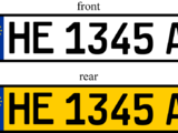 Vehicle registration plates of Heigard