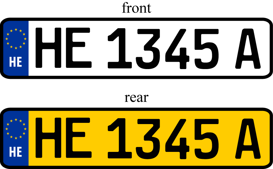Vehicle registration plates of Heigard | Constructed Worlds Wiki ...