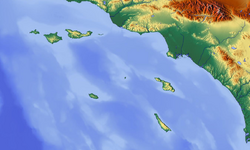 Channel Islands topographic