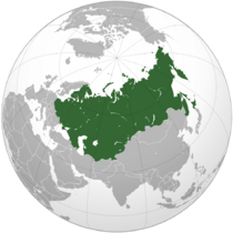 Map of the Greater Eurasian Federation