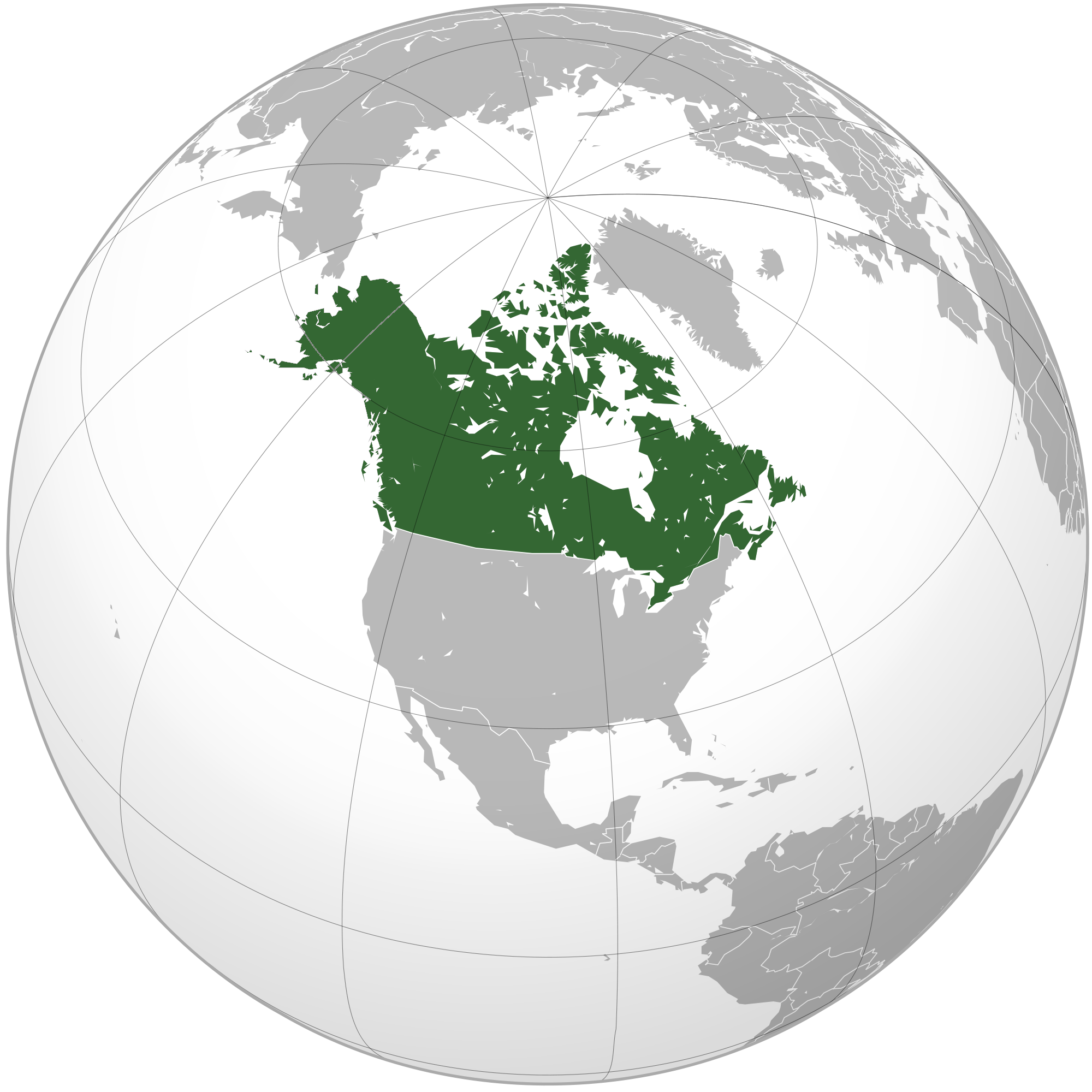 CanadaFE Constructed Worlds Wiki FANDOM Powered By Wikia - Canada location