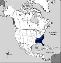 Map of the Confederate States of America
