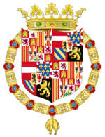 Arms of Ludolf I of La Plata